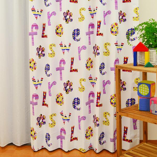 kids roomにこだわる!子供部屋カーテン NO.3
